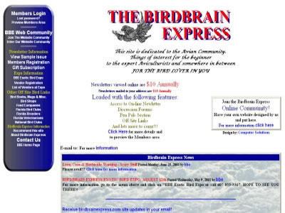 The Birdbrain Express