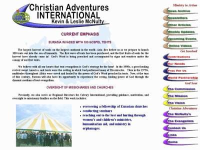Christian Adventures International