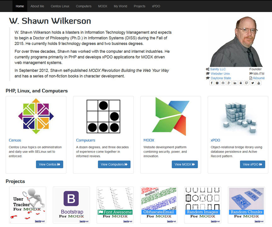 W. Shawn Wilkerson (Founder's Site)