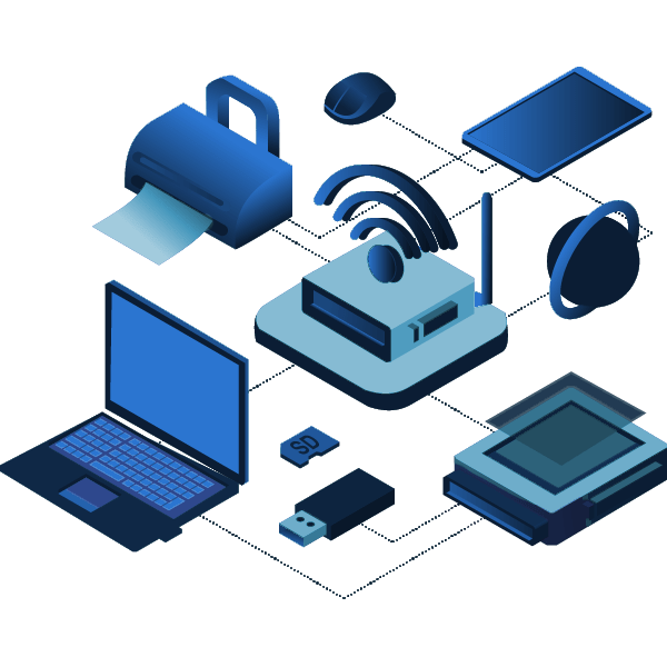 computers, routers, printers, smart, devices, security, wifi, home, small, office, business